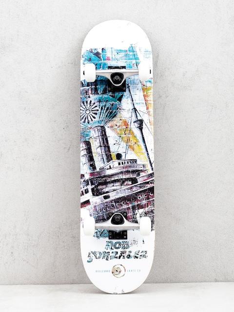 Skateboard Boulevard Gonzales Street Art