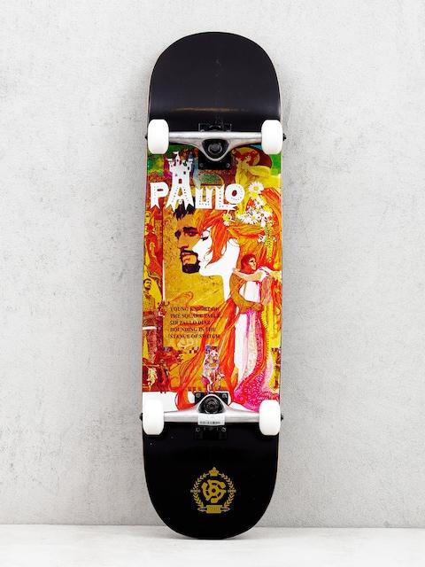 Skateboard Stereo Paulo Diaz Camelot (black/multi)