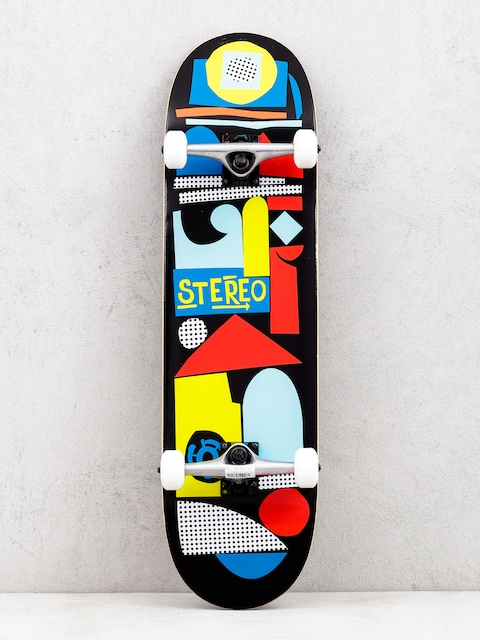 Skateboard Stereo Team Collage (black/multi)