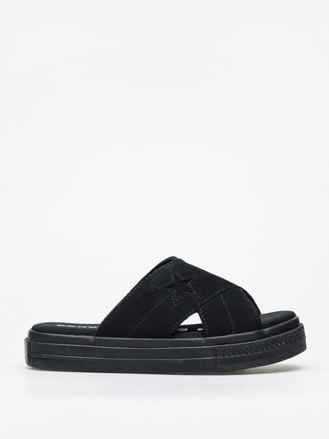 Plážovky Converse One Star Sandal Slip Wmn (black/black/black)