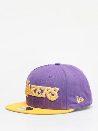 Kšiltovka  New Era Nba Pincrown ZD (los angeles lakers purple/yellow)