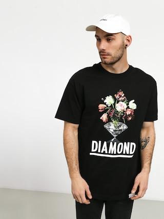 Tričko Diamond Supply Co. Pollination (black)