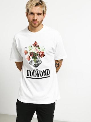 Tričko Diamond Supply Co. Pollination (white)