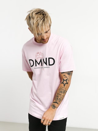 Tričko Diamond Supply Co. Dmnd Amour (pink)