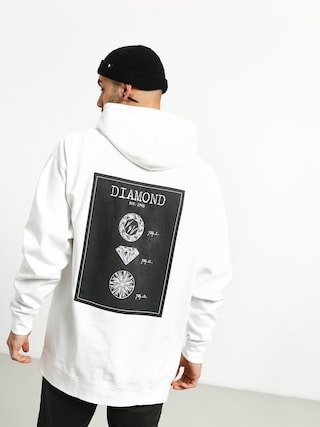 Mikina Diamond Supply Co. Draft (white)