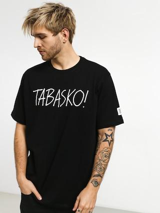 Tričko Tabasko Tag (black)