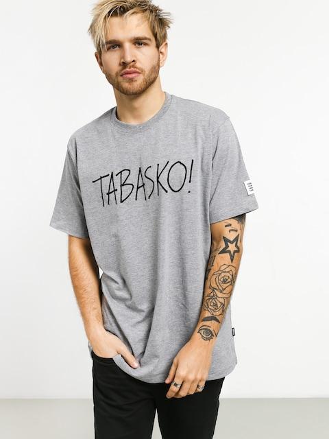 Tričko Tabasko Tag (grey)