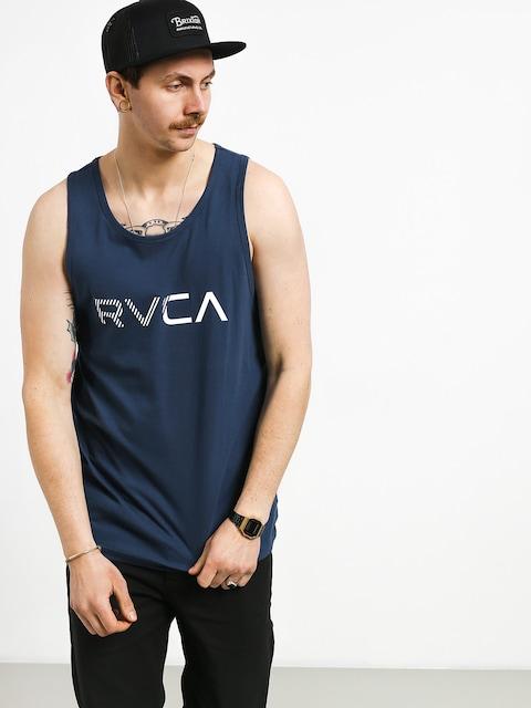 Tričko RVCA Blinded (seattle blue)
