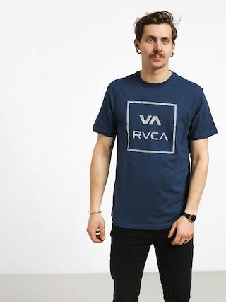 Tričko RVCA Fill All The Way (seattle blue)