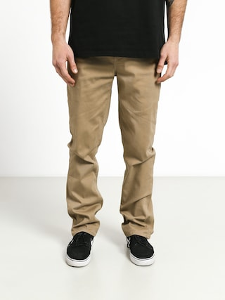 Kalhoty Etnies Essential Slim Chino (khaki)