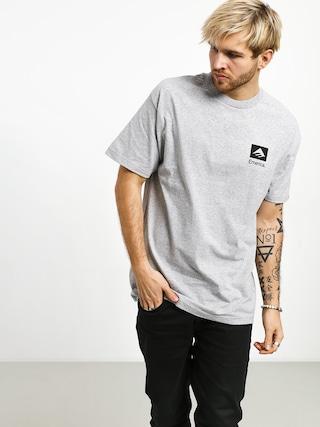 Tričko Emerica Brand Combo (grey/black)