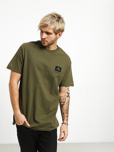 Tričko Emerica Brand Combo (army)