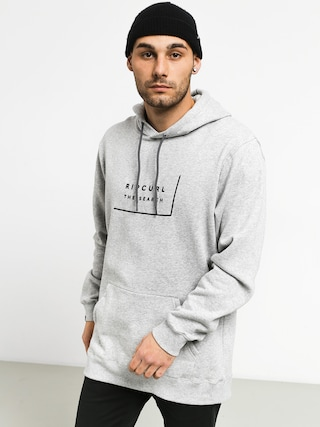 Mikina s kapucu00ed Rip Curl Daily Fleece HD (cement marle)