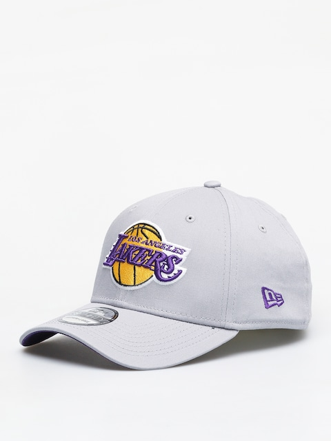 Kšiltovka  New Era 39Thirty Nba Team Los Angeles Lakers ZD (gray)
