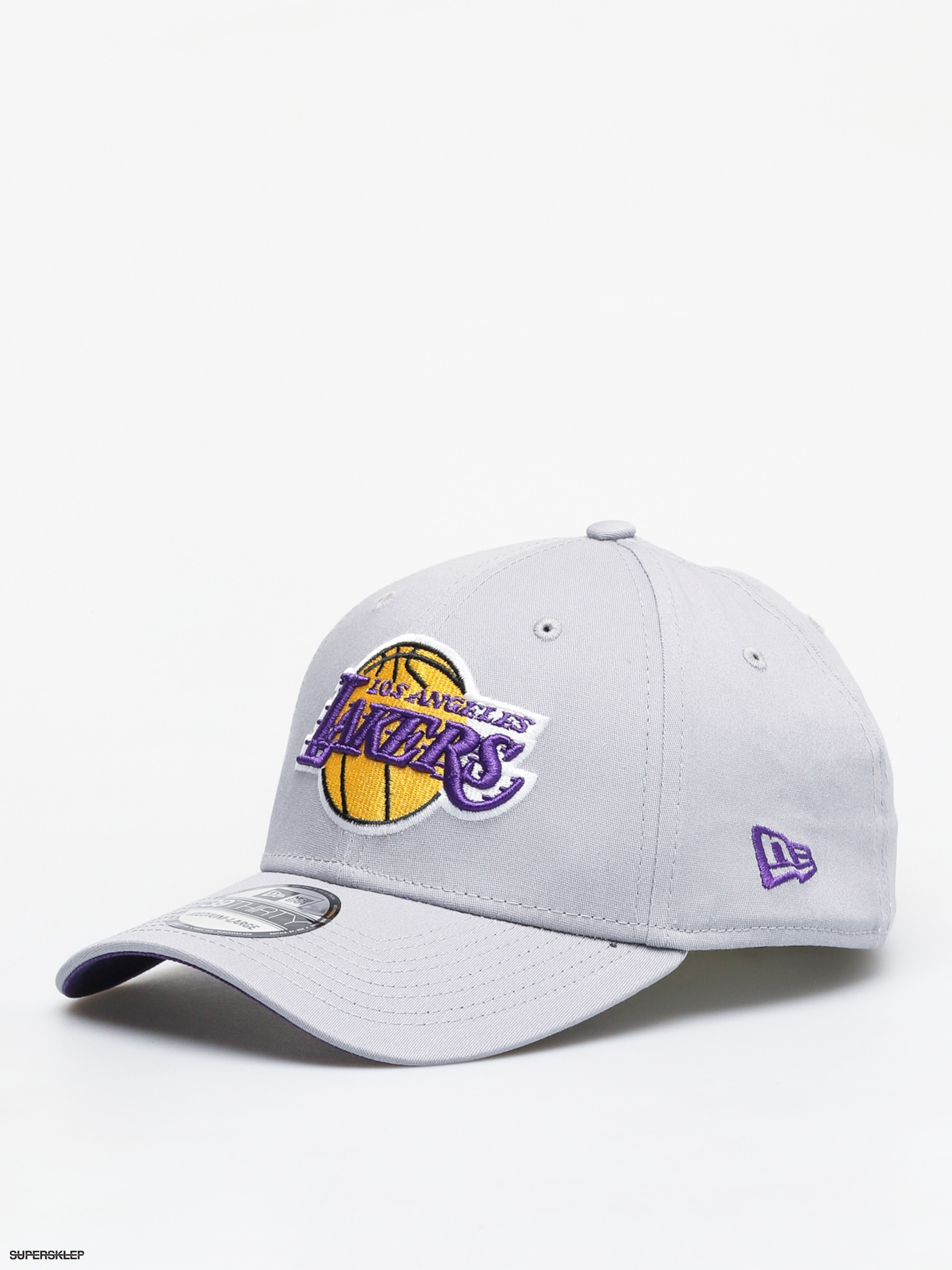 meet 13fd8 c1a36 Kšiltovka New Era 39Thirty Nba Team Los Angeles Lakers ZD (gray)