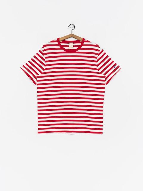 Tričko Champion Crewneck T Shirt (htr/wht)