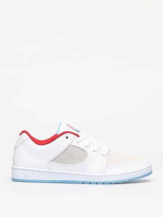 Boty Es Accel Slim (white/white/blue)