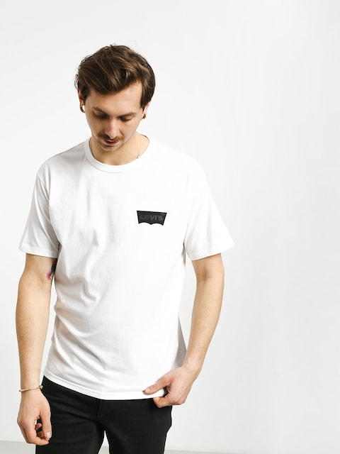 Tričko Levi's Graphic (white core batwing black)