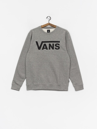 Mikina Vans Classic Crew (concrete heather/black)