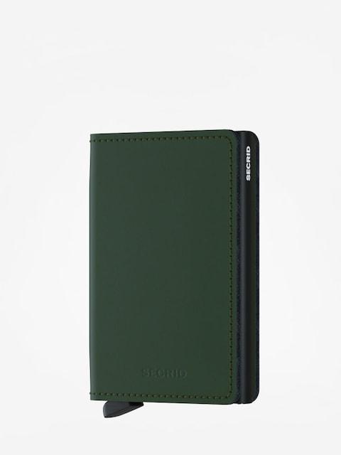 Peněženka Secrid Slimwallet Matte (green/black)