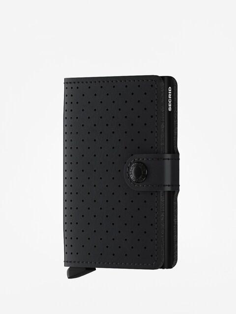 Peněženka Secrid Miniwallet Perforated (black)