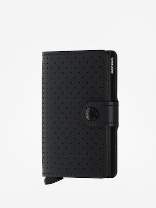 Penu011bu017eenka Secrid Miniwallet Perforated (black)