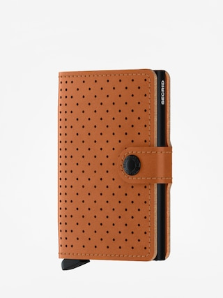Penu011bu017eenka Secrid Miniwallet Perforated (cognac)
