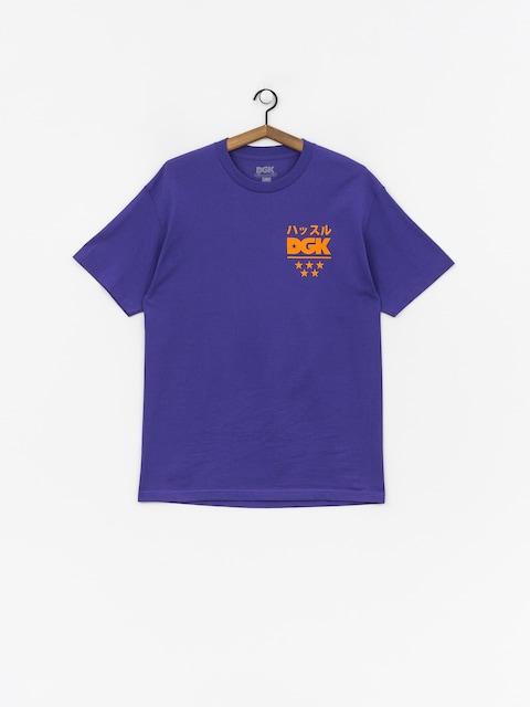 Tričko DGK No Time (purple)