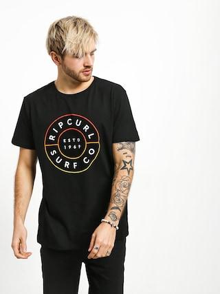 Tričko Rip Curl Neon Donut (black)