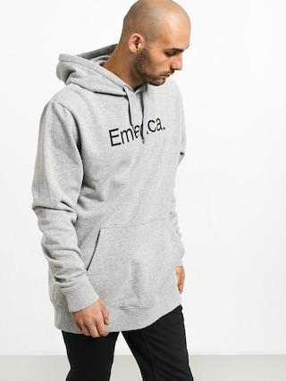 Mikina s kapucí Emerica Small Pure Logo HD (grey/heather)