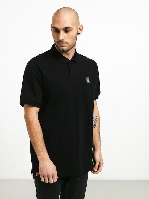 Polo tričko Es Split (black)