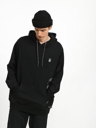 Mikina s kapucí Es Split HD (black)