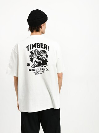 Tričko Element Timber Heavy (off white)