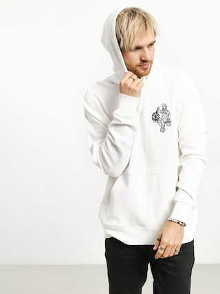 Mikina s kapucí Element Crew HD (off white)