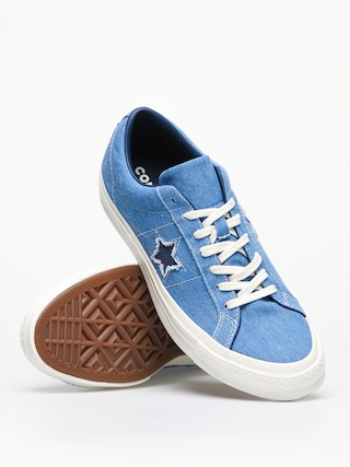 Boty Converse One Star Ox (totally blue/navy/egret)