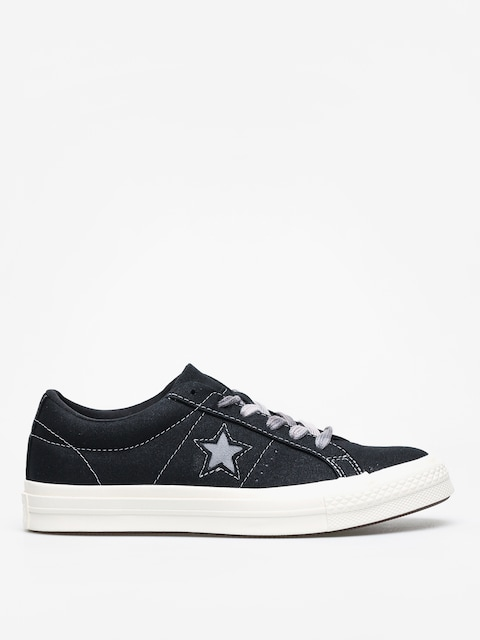 Boty Converse One Star Ox Wmn (black/cool grey/egret)