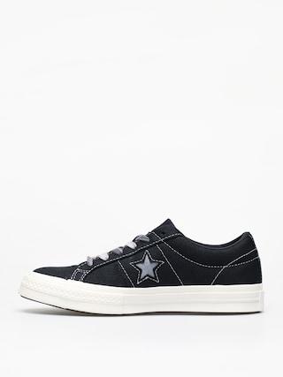 Boty Converse One Star Ox Wmn (black/cool grey/egret)