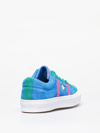 Boty Converse One Star Academy Ox (totally blue/racer pink/white)