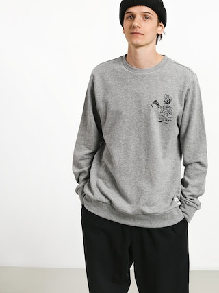 Mikina Element Spilt Crew (grey heather)