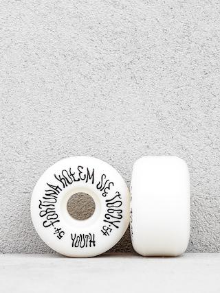 Kolečka Youth Skateboards Fortuna (black/white)