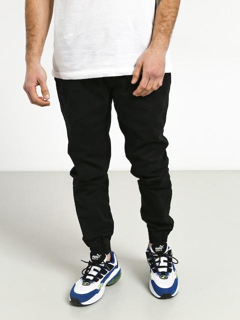 Kalhoty Diamante Wear Smokers Club Jogger (black)