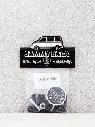 Šroubky Hard Luck Sammy Baca Phillips (black/silver)