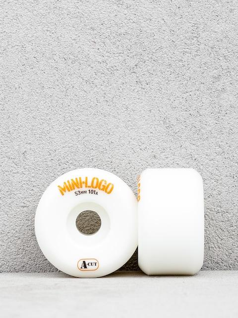 Kolečka Minilogo Whl Mini Logo A Cut (white)