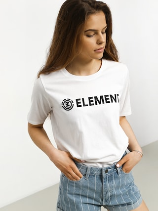 Tričko Element Logo Cr Wmn (white)