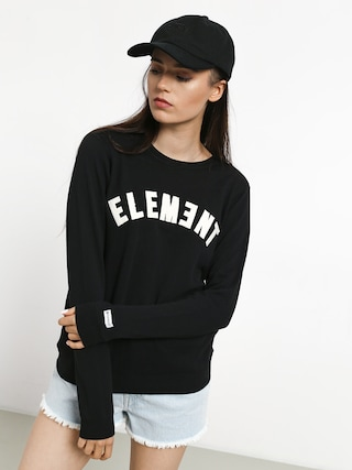 Mikina Element Logo Fleece Wmn (black)
