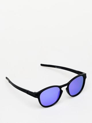 Sluneční brýle Oakley Latch (matte black/violet iridium)