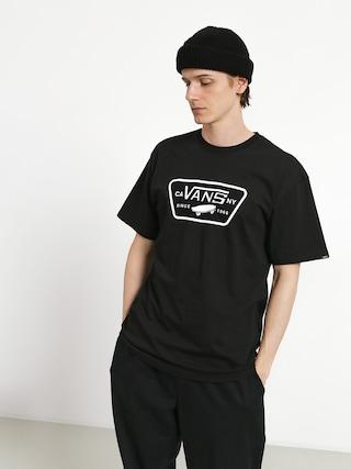 Tričko Vans Full Patch (black/white)