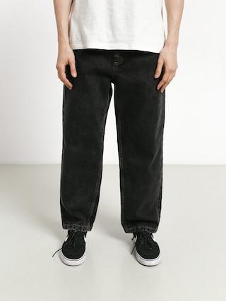 Kalhoty Polar Skate 93 Denim (washed black)