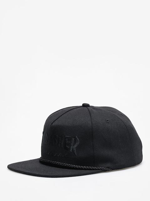 Kšiltovka  Thrasher Rope Snap ZD (black/black)