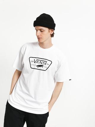 Tričko Vans Full Patch (white/black)
